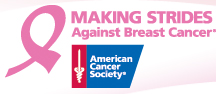 making strides for breast cancer logo