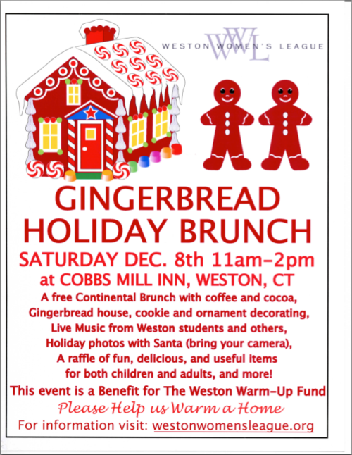 Gingerbread Holiday Brunch - 12/8