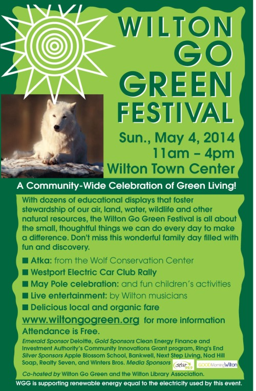 Wilton Go Green Festival - May 4th